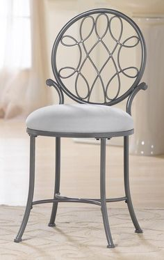 Hillsdale Furniture 50946A O'Malley Vanity Stool