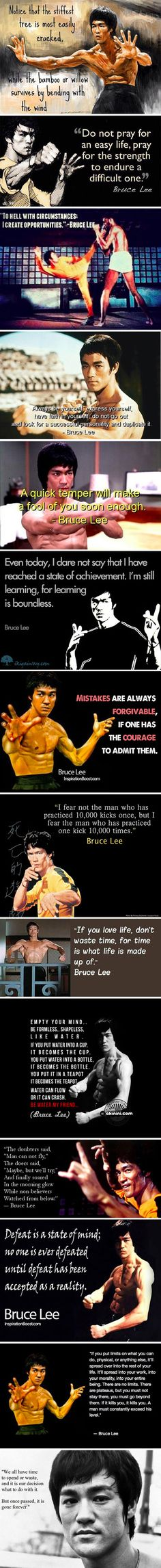 Just a little Bruce Lee.