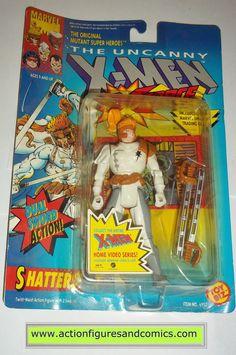 X-MEN X-Force toy biz SHATTERSTAR 1992 marvel universe moc mip mib action figures