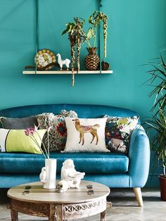 What a gorgeous and vibrant colour scheme this is!
