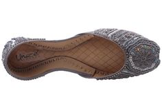 Womens 'Lynton' Embroidered Leather Indian Khussa Bride Slippers, Indian, Leather, Shoes, Women, Zapatos, Shoes Outlet, Shoe, Footwear