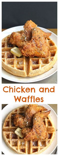 Homemade Chicken and Waffles | Grandbaby Cakes