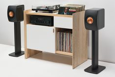 Unison Record Storage Stand by Symbol Audio