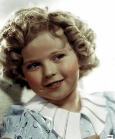 Shirley Temple,adorable and beautiful. Love her dimples!