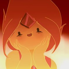 Flame Princess- She looks so happy with her life