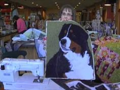 Heartsdesire Quilting / Portrait Quilts - YouTube