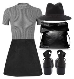"""Untitled #3215"" by london-wanderlust ❤ liked on Polyvore featuring Miss Selfridge, Rick Owens, Boohoo and Windsor Smith"