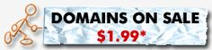 domains on sale for $1.99. have to buy hosting though, but cheap