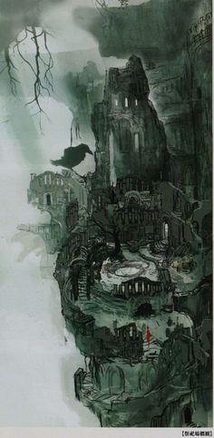 Firelink Shrine | Dark Souls