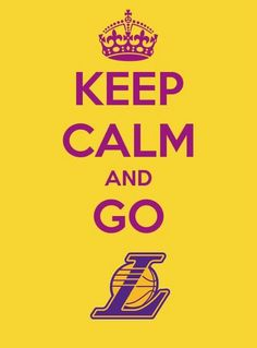 Go LA. Lakers!
