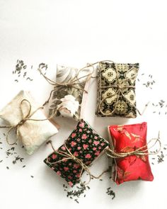 Handmade | Lavender scented bundles by me