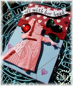 Alice in Wonderland ATC's