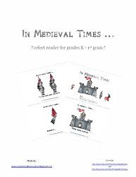 In Medieval Times Emergent Reader (Free) History Education, Teaching History, Kindergarten Worksheets, Worksheets For Kids, Middle Ages History, Summer Camp Activities, Study Board, Emergent Readers, Medieval Times