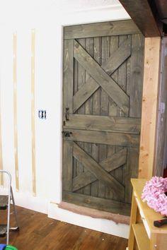 Barn Dutch Door free building plans on site
