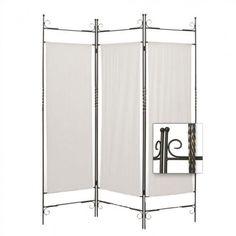 Screen Gems Iron Canvas Folding Room Divider - SG-26