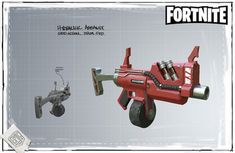 Fortnite - Hydraulic Assault - Concept Art