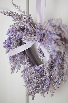 ~*Lavender Wreath