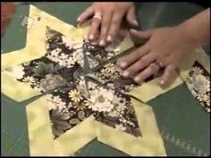 Patchwork Ana Cosentino: Estrela de 6 Pontas - YouTube