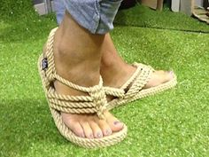 This adjustable, light weight, super soft rope sandal in camel color. Machine washable, color fast, and looks super sexy!
