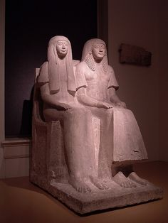 Maya and Merit. Maya was the Official Overseer of the Treasury during the reign of Pharaoh Tutankhamun, Ay and Horemheb of the eighteenth dynasty of Ancient Egypt.