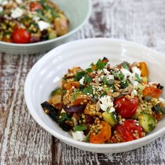 Pumpkin, date and feta Sorghum tabouleh Sorghum is a gluten-free pseudo grain, like millet and quinoa. Botanically speaking, it's actually a grass, but it cooks like a grain.
