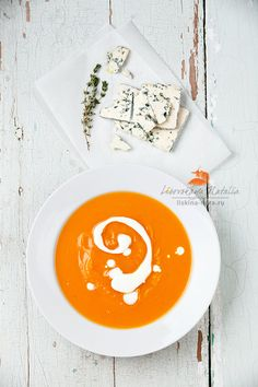 pumpkin soup with blue cheese by Natalia Lisovskaya on 500px