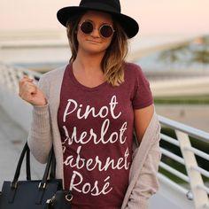 Wine List Women's Tee