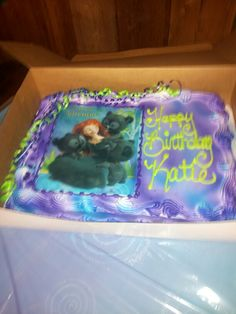 Disney's Brave Cake #2