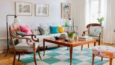 Daily Dream Decor: Colorful classic & modern home Beautiful Home Gardens, Dream Decor, Interior Design Living Room, Decoration, Bunt, Interior Inspiration, Living Spaces, Ikea, Home Decor