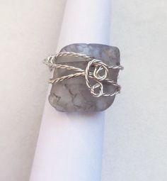 Genuine SeaGlass on etsy, Fire Glass Twisted Wire Wrapped Ring, Bonfire SeaGlass Jewelry, Sister, best friend, Jewelry gift just beacause