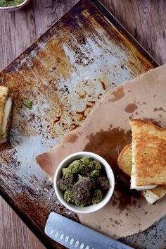Cannabis Infused Grilled Cheese