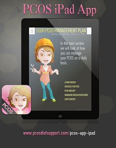 PCOS iPad App - Find the answers to your questions about Polycystic Ovarian Syndrome #pcos