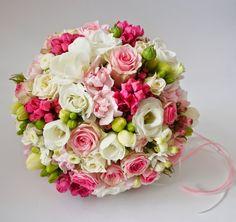 Floral Bouquets, Wedding Bouquets, Floral Wedding, Wedding Flowers, Hot Pink Weddings, Blush Bouquet, Arte Floral, Decoration Table, Pink Flowers