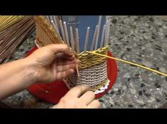 A desk organizer with your own hands. Part 2. - YouTube