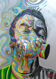 Street art by Shaka