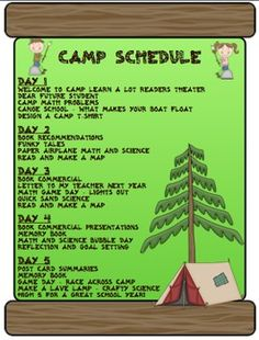 Camp End of the Year - A Week of Learning Fun! End your year with a bang! This unit is packed with fun and academic end of the year activities! $