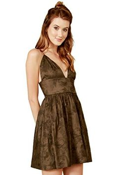 The Sugarlips Empire State Dress is a gorgeous olive green embroidered dress. Features a deep v neck and thin criss cross straps in the back. Features a band around the bust that slims the figure. Invisible zipper closure on back. Price : $64.00 #MyLuluCloset #Sugarlips #NewArrivals