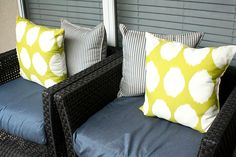 Small Patio Ideas: From One Patio to Another - The Home Depot - Home Improvement Blog – The Apron by The Home Depot
