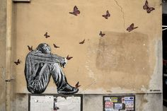 StreetArt Roma: Senza Titolo | Jef Aérosol | 2014 | Zona: Torpignattara | #art #streetart #roma