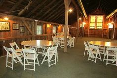 The barn at harvest moon pond. Loft/indoor ceremony area