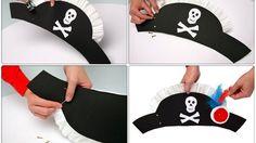 chapeau de pirates tete de mort