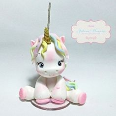 1 million+ Stunning Free Images to Use Anywhere Party Unicorn, Unicorn Birthday Parties, Little Pony Cake, Unicorn Cake Topper, Unicorn Cakes, Fondant Animals, Animal Cakes, Cute Polymer Clay, Fondant Decorations
