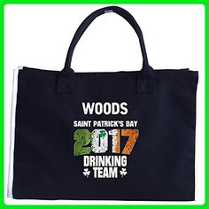 Woods Irish St Patricks Day 2017 Drinking Team - Tote Bag - Totes (*Amazon Partner-Link)
