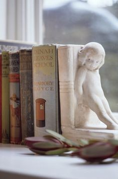 :-)  I have the exact same bookend