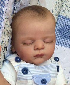Joanna s Nursery ~ ADORABLE~RARE~ Reborn Baby BOY~ LINUS By GUDRUN LEGLER~