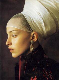 Alexander McQueen for Givenchy Couture Vogue Italia 1997: