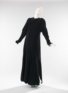 Evening coat  -  American  -  1935