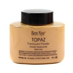 Ben Nye Ebony Classic Translucent Face Powder A durable, soft matte finish powder. Find your match in 9 different shades ranging from fair to cool, to the rich, deep brown! Brand new, never opened! Ben Nye Translucent Powder, Ben Nye Luxury Powder, Best Powder, Banana Powder, Makeup Store, Dark Skin Tone, Natural Glow, Face Powder, Setting Powder