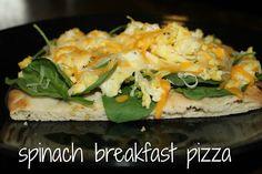 TWO easy-peasy breakfast pizza recipes. nom nom.