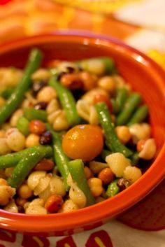 Bean and Pasta Salad, Vegan